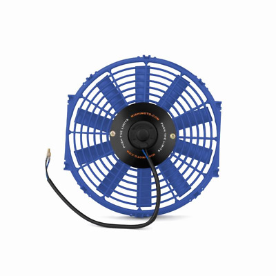 "Mishimoto 12"" Slim Line Electric 12v Fan - Blue"