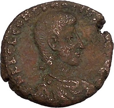 Constantius Gallus 351AD Authentic Ancient Roman Coin Battle Horse man  i42502