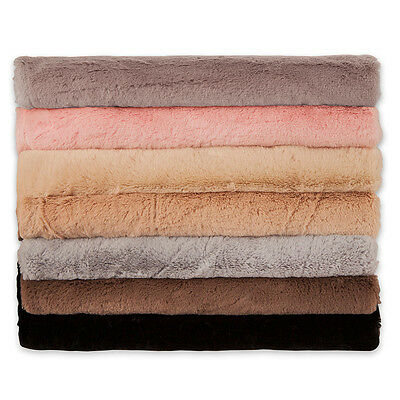 Neotrims Imitation MINK Faux Fur Fabric, Luxury Soft Feel 7 Colours, Photography