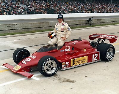 Chip Ganassi 1982 First Indy 500 #12 Auto Racing 8X10 Photo