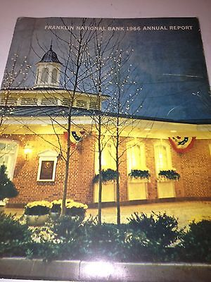Estate 1967 FRANKLIN NATIONAL BANK ANNUAL REPORT Long Island New York