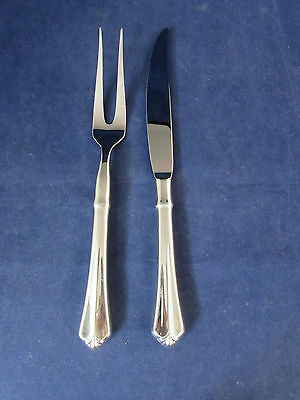 Oneida JUILLIARD Stainless 2pc Carving Set (s) INDONESIA