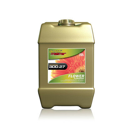 Dutch Master Gold Add .27 Flower - 20L | Bloom Additive | Clinically Proven