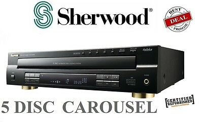 【20%OFF】Sherwood CDC5506 5-Disc CD Player Player w/ USB Carousel CD Changer