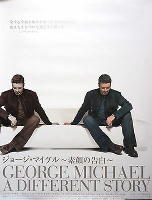 GEORGE MICHAEL A Different Story JAPAN MOVIE RARE POSTER Wham