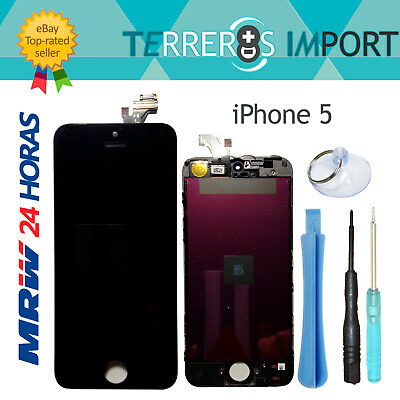 Pantalla LCD Cristal Digitalizador para iPhone 5 Retina Display Negro