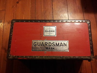VINTAGE Globe GUARDSMAN self contained breathing apparatus SCBA Fire Safety L@@K