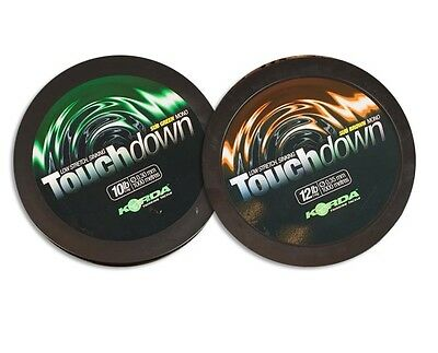 Korda NEW Touchdown Carp Fishing Mono Mainline Green or Brown *All Types*