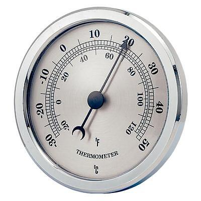 Indoor Outdoor Bi - Metal Coil Wall Thermometer Ideal For Home Or Garden New