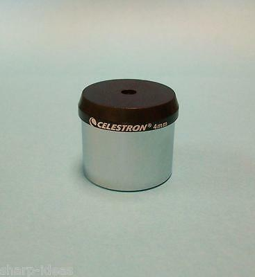 "Celestron 1.25"" High Power 4mm Eyepiece for Telescope"