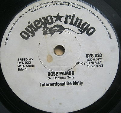 OYS 933:International De Nelly (Dr Ochieng Nelly):Rose Pambo:Wach Duto Minyalo