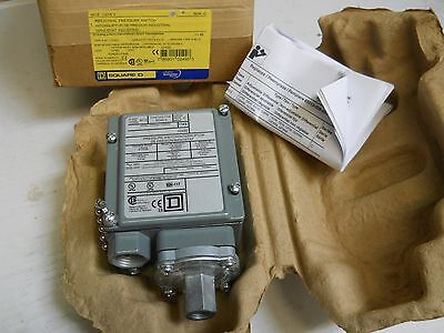Square D 9012 Gdw-2 Pressure Switch 1-40 Psi New Condition In Factory Box