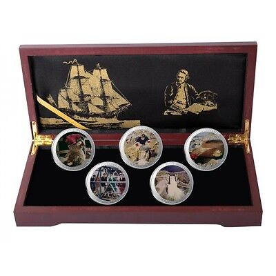 Great Southern Land Limited Edition The Building of a Nation Silver Bullion Set