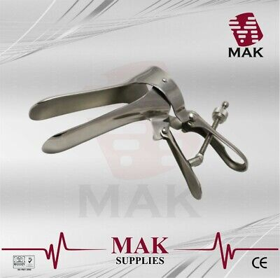 M@K Vaginal Speculum Cusco Centre Screw Small/Medium/Large Stainless Steel