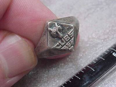 Awesome Cub Boy Scouts of America Sterling Ring BSA (14H1)