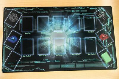 C294 Free Mat Bag Custom Made Playmat Yugioh Game Play Mat Anime Mat Card Zones