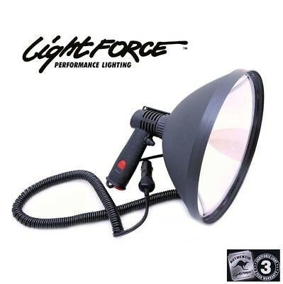 Lightforce 240 Blitz Handheld 12v 100w halogen Spot Lights 12 Cig Plug SL2406