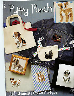 Punch Needle Embroidery: Puppy Punch -Retail $8.95 *