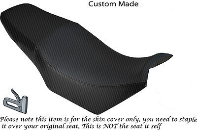 Carbon Fibre Vinyl Custom Fits Yamaha Fzx 750 700 Dual Seat Cover Only