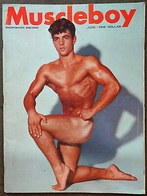 MUSCLE BOY vintage Beefcake Gay interest magazine Vol 1 #2 June 1963