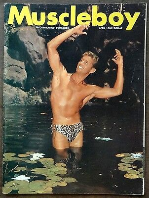 MUSCLE BOY vintage Beefcake Gay interest magazine Vol 1 #1 April 1963