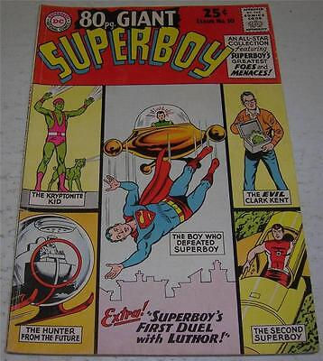 80 PAGE GIANT #10 SUPERBOY (DC Comics 1965) Greatest Foes & Menaces (VG/FN)