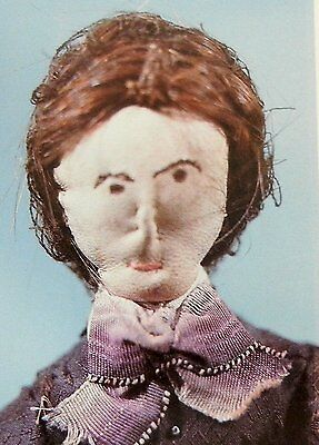 VTG Research Article & Pics - Antique1840s Grandma Kimball Cloth Doll History