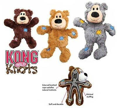 Kong Wild Knots Heavy Duty Plush Dog Toy (3 sizes)
