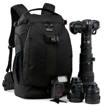 Lowepro Flipside 500 AW DSLR Camera Photo Bag Backpack Case  All Weather Cover