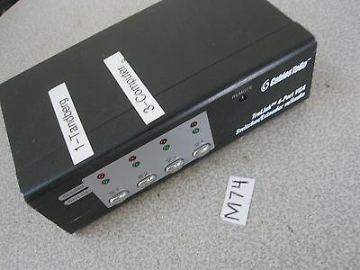Cables To Go 39972 Trulink 4-Port Uxga Monitor Switcher-Extender With Audio