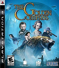 GOLDEN COMPASS (Sony Playstation 3, 2007) INCLUDES TNSTRUCTIONS
