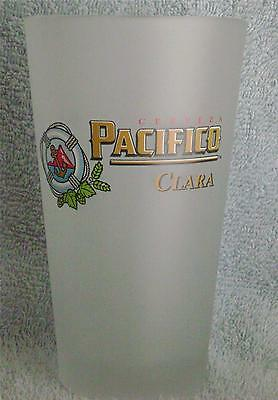 Pacifico Clara Beer New Frosted 16 oz. Pint Glass .. Life Preserver ... Beauty!!
