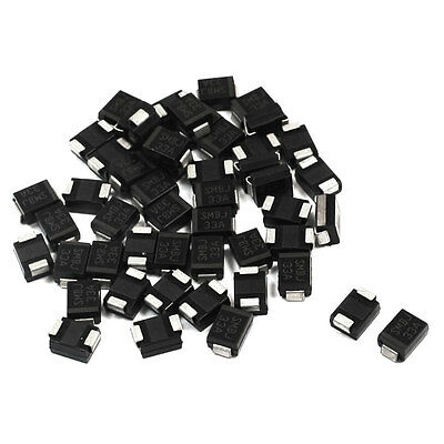 DO-214AA Package 600W Semiconductor Transient Suppression Diode SMBJ33A 50pcs