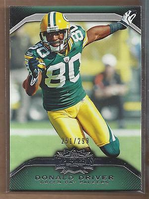 2010 Topps Triple Threads Emerald #33 Donald Driver /299 - NM-MT
