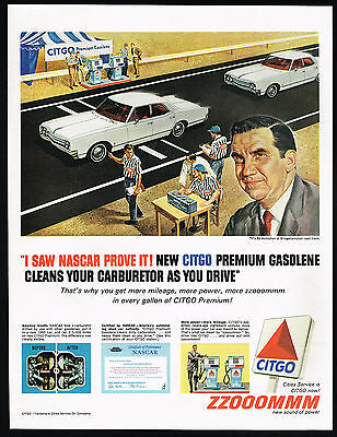 1965 Ed McMahon Tonight Show Co Host Citgo Gasoline Print Ad