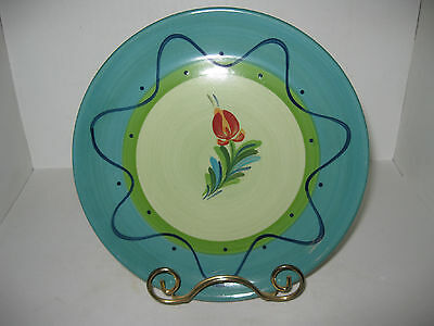 Gail Pittman Southern Potteries Provence Retired Flower Salad Plate 8 Available