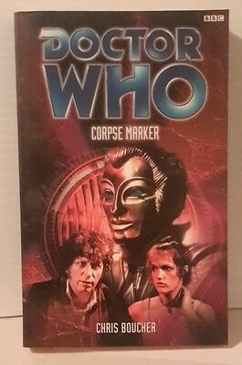 Doctor Who  CORPSE MARKER  BBC Paperback Book- FREE S&H (M2570)