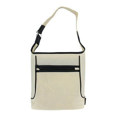 Thermos White Insulated Fashion Lunch Tote Sack