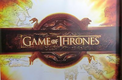 Game Of Thrones -Scroll -Licensed POSTER-90cm x 60cm-Brand New