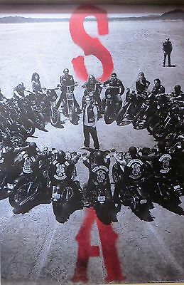 Sons Of Anarchy -Bike Circle -Licensed POSTER-90cm x 60cm-Brand New