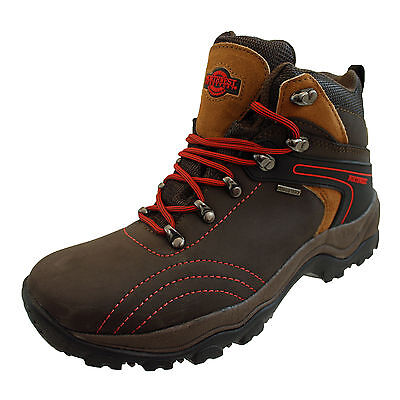 Northwest Avalon Ladies Boys Waterproof Leather Walking Hiking Trail Ankle Boots