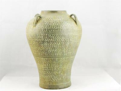 Porcelain Antique Chinese Vase, Celadon Color, Hand Made, Excellent Condition