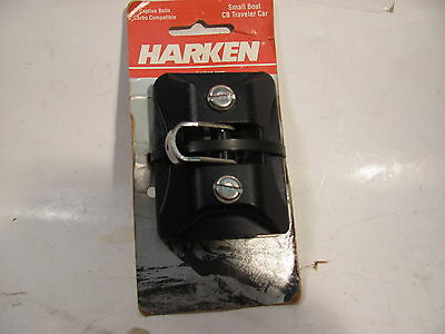 HARKEN 2726 small BOAT  CB TRAVELER CAR  with PIVOTING SHACKLE
