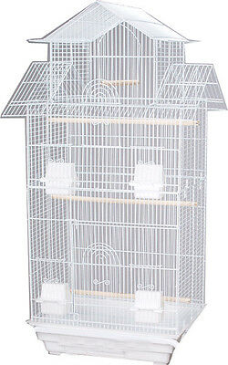 """NEW Canary Parakeet Cockatiel LoveBird Finch Cages Bird Cage 18x14x39""""H -289"""