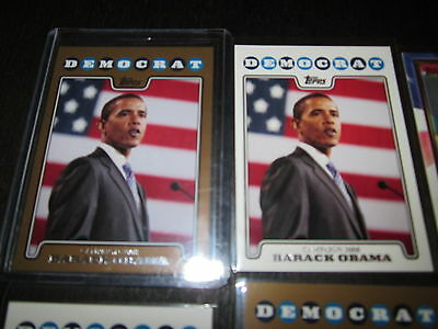 Baseball Card Inserts LOT; Presidential, Historical, Political figures Lot,RARE!