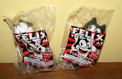 Felix The Cat Wendy's Lot Of 2 Catch Game &  Plush Stuffed Toy 1996 New Sealed