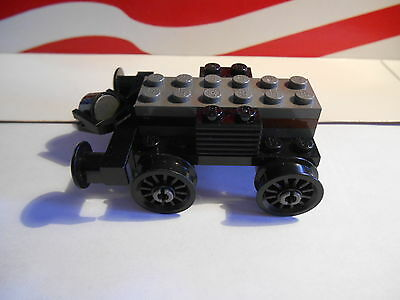 LEGO HARRY POTTER  2 AXLE WHEEL ASSEMBLY  HOGWARTS EXPRESS TRAIN Set 4708