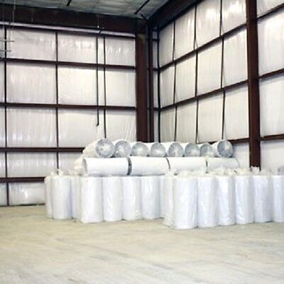 500sqft Low-E Reflective Foam Core 1/4 inch White Insulation Barrier 4x125NP