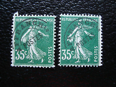 FRANCE-timbre yvert et tellier preoblitere n°63 x2 sans gomme (A14)stamp french