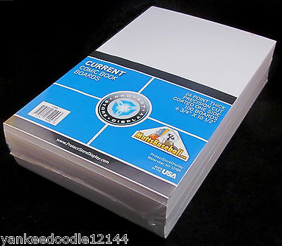"""200 Protect Store Display Current 6.875"""" Comic Bags AND Current 6.75"""" Boards"""